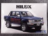 アオシマ 1/24 ザ モデルカーシリーズ No.20 トヨタ LN107 ハイラックスピックアップ ダブルキャブ 4WD'94