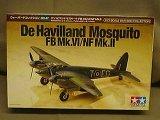 タミヤ 1/72 WBシリーズ No.047 デ・ハビランド モスキート FB Mk-IV/NF Mk-II