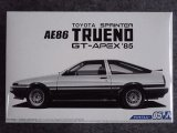 アオシマ 1/24 ザ モデルカーシリーズ No.05 トヨタ AE86 スプリンター トレノ GT-APEX '85