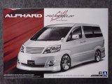 アオシマ 1/24 ザ チューンドカーシリーズ No.07 シルクブレイズ MNH/ANH10 15W アルファード'05