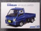 アオシマ 1/24 ザ モデルカーシリーズ No.04 スバル TT2 サンバートラック WRブルーリミテッド'11