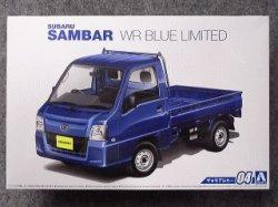 画像1: アオシマ 1/24 ザ モデルカーシリーズ No.04 スバル TT2 サンバートラック WRブルーリミテッド'11