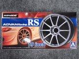 アオシマ 1/24 ザ チューンドパーツシリーズ No.45 アドバンレーシング RS 19インチ