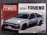 アオシマ 1/24 ザ チューンドカーシリーズ No.29 トヨタ TRD AE86 トレノ N2仕様 '85