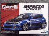 アオシマ 1/24 ザ チューンドカーシリーズ No.35 ings GRB インプレッサ WRX STI '07