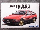 アオシマ 1/24 ザ モデルカーシリーズ No.86 トヨタ AE86 スプリンタートレノ GT-APEX'84