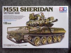 画像1: タミヤ 1/35 MMシリーズ  No.365 アメリカ空挺戦車 M551 シェリダン(ベトナム戦争)