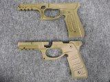 RECOVER TACTICAL マルイ M9/M92シリーズ対応   グリップ&レールアーマー(TAN)
