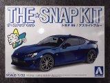 アオシマ 1/32 ザ スナップキットシリーズ No.03-D トヨタ 86/アズライトブルー