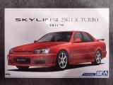 アオシマ 1/24 ザ モデルカーシリーズ No.98 ニッサン ER34 スカイライン 25GT-Xターボ'98