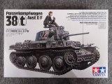 タミヤ 1/35 MMシリーズ No.369 ドイツ軽戦車 38 (t) E/F型