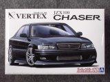 アオシマ 1/24 ザ チューンドカーシリーズ No.10 VERTEX JZX100 チェイサー ツアラーV '98 (トヨタ)