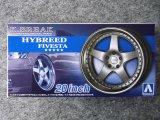 アオシマ 1/24 ザ チューンドパーツシリーズ No.100 K-BREAK ハイブリード ファイブスタ 20インチ