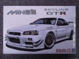 アオシマ 1/24 ザ チューンドカーシリーズ No.34 マインズ BNR34 スカイラインGT-R'02
