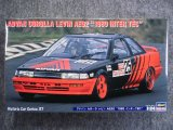 """ハセガワ 1/24 ヒストリックカーシリーズ No.37 アドバン カローラ レビン AE92 """"1989 インターTEC"""""""