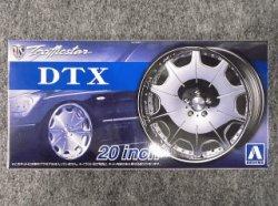 画像1: アオシマ 1/24 ザ チューンドパーツシリーズ No.62 トラフィックスター DTX 20インチ