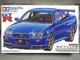 タミヤ 1/24 スポーツカーシリーズ No.210 スカイライン GT-R R34