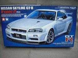 画像1: タミヤ 1/24 スポーツカーシリーズ No.258 ニッサン スカイライン GT-R VスペックII (R34)