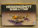 タミヤ 1/72 WBシリーズ No.055 メッサーシュミット Bf109E-4/7 TROP